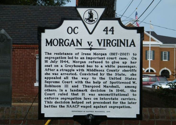 Morgan v. Virginia (1946)