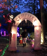 """""""Scary Halloween"""" At Holly Point Park"""