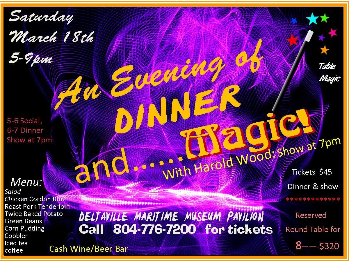An Evening of Dinner & MAGIC