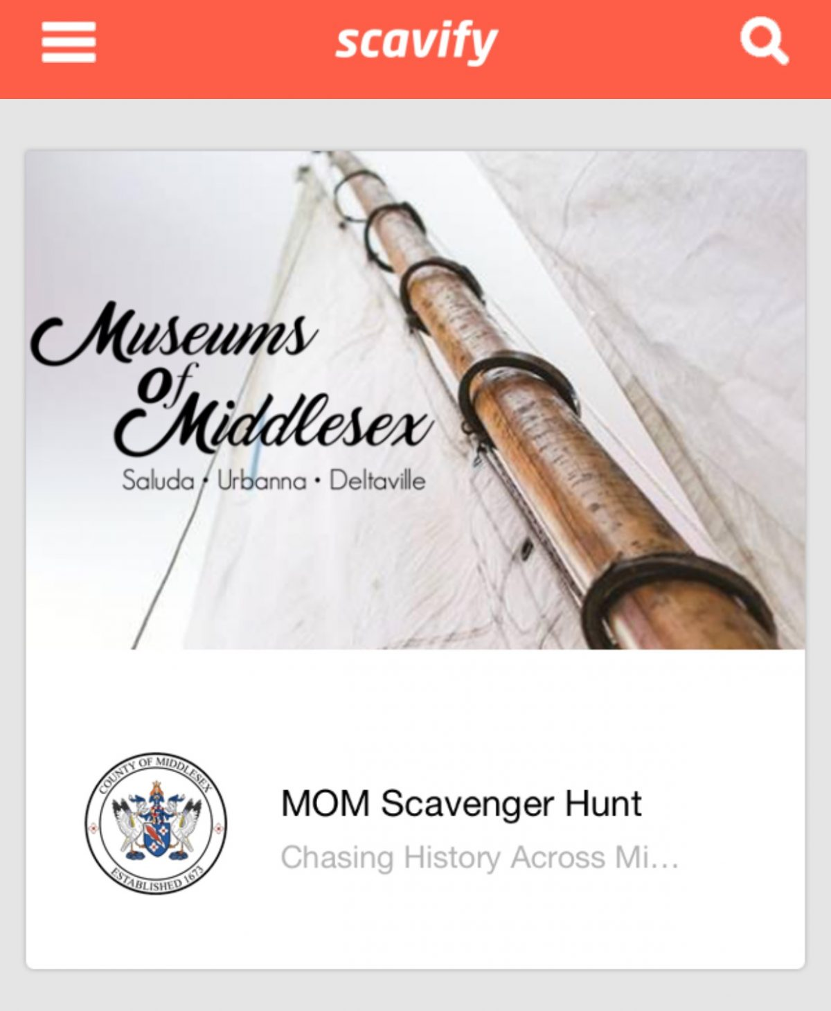 Museums of Middlesex Launch Summer Scavenger Hunt