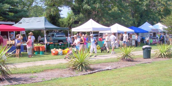 September 2018 Holly Point Market, Farmers Market in Deltaville