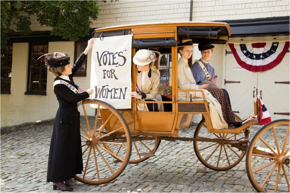 "Join the Middlesex Museum for ""Persistence: The Story of Women's Suffrage"""