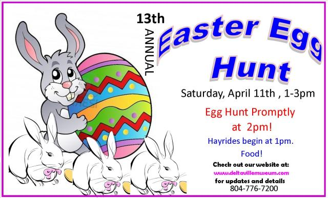 Deltaville Maritime Museum's 13th Annual Easter Egg Hunt