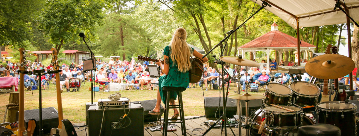 2020 Groovin' In The Park at The Deltaville Maritime Museum